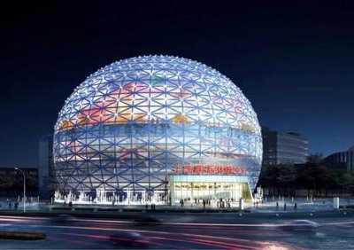 上海国际体操中心 集多功能于一体