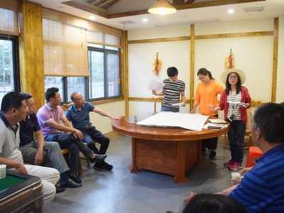 广水旅游 广水寿山旅游总体规划项目组首次踏勘