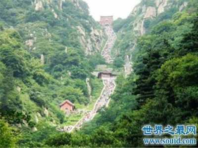 中国四大名山 你去过哪座山