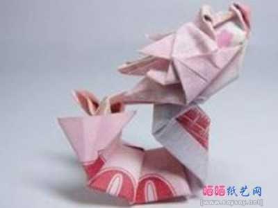 十二生肖折纸龙 纸币折纸教程系列十二生肖-